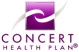 Dr. Dennis Dasher accepts Concert Health Plan